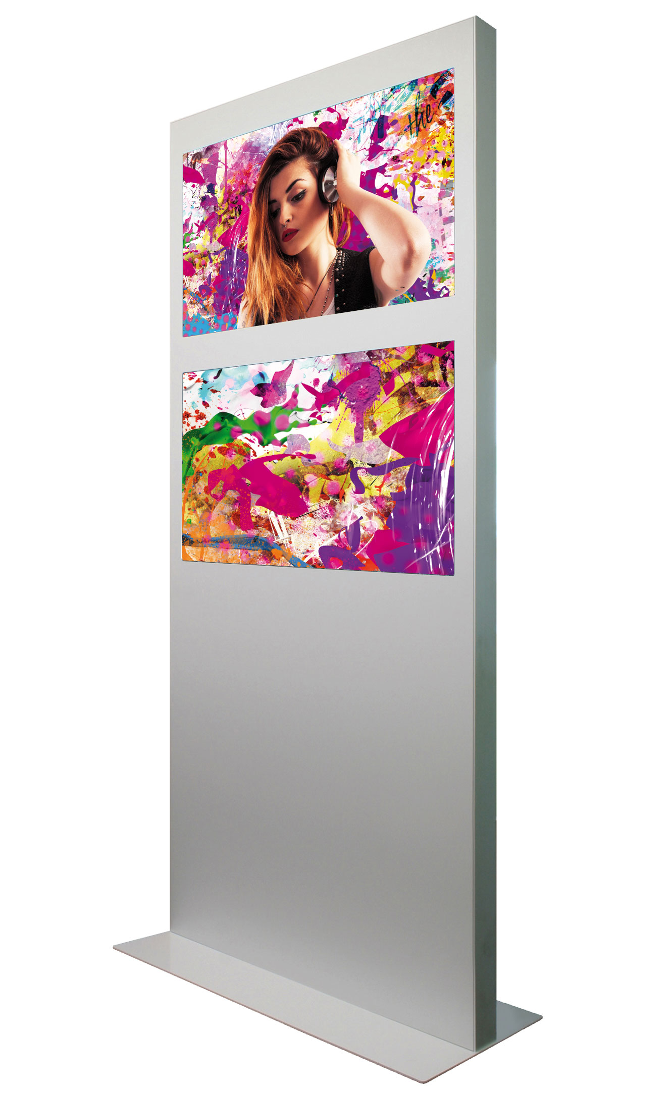 2 Screen Digital Signage