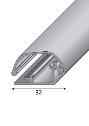 Profile Safety 32 in cross-section